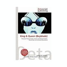 King & Queen (Beyblade) - Carte in engleza