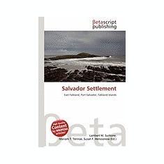 Salvador Settlement - Carte in engleza