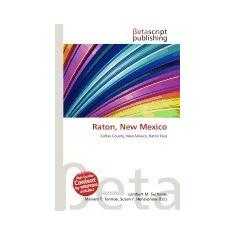 Raton, New Mexico - Carte in engleza