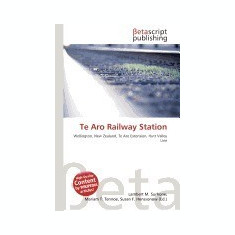 Te Aro Railway Station - Carte in engleza