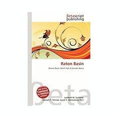 Raton Basin - Carte in engleza