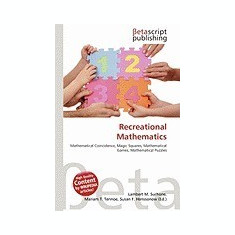 Recreational Mathematics - Carte in engleza