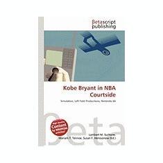 Kobe Bryant in NBA Courtside - Carte in engleza