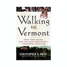 Walking to Vermont - Carte in engleza