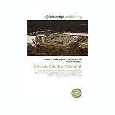 Orleans County, Vermont - Carte in engleza
