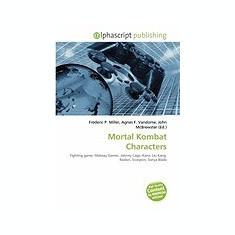 Mortal Kombat Characters - Carte in engleza