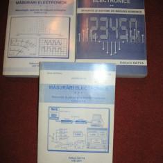 Masurari electronice - Antoniu Mihai (3 vol.) - Carti Electronica