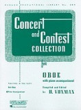 Concert and Contest Collection for Oboe: With Piano Accompaniment