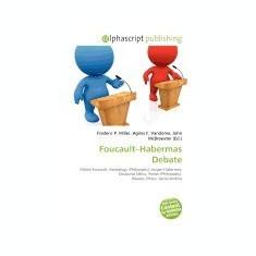 Foucault-Habermas Debate - Carte in engleza