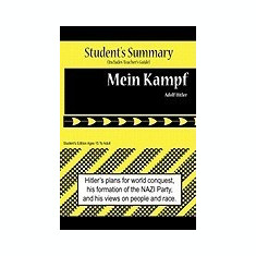 Mein Kampf Analysis and Summary(student's and Teacher's Edition) - Carte in engleza