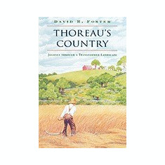 Thoreau's Country: Journey Through a Transformed Landscape - Carte in engleza