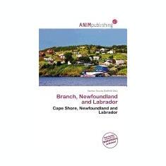Branch, Newfoundland and Labrador - Carte in engleza