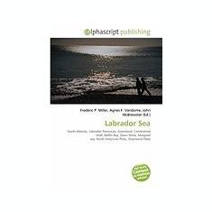Labrador Sea - Carte in engleza