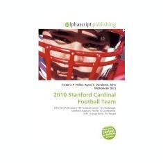 2010 Stanford Cardinal Football Team - Carte in engleza