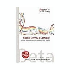 Raton (Amtrak Station) - Carte in engleza