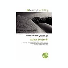 Walter Benjamin - Carte in engleza