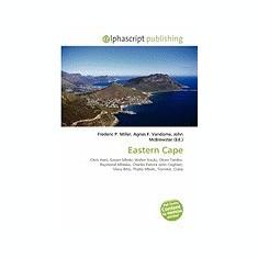 Eastern Cape - Carte in engleza