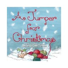 A Jumper for Christmas - Carte in engleza