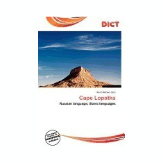 Cape Lopatka - Carte in engleza