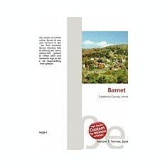 Barnet (Vermont) - Carte in engleza