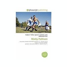 Matty Pattison - Carte in engleza