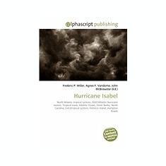 Hurricane Isabel - Carte in engleza