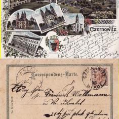 Cernauti , Bucovina - litografie 1898-editura Jager