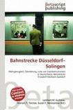 Bahnstrecke D Sseldorf-Solingen