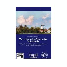 Wery, Kuyavian-Pomeranian Voivodeship - Carte in engleza