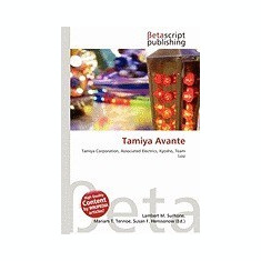 Tamiya Avante - Carte in engleza