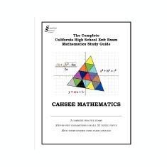 Cahsee Mathematics - Carte in engleza