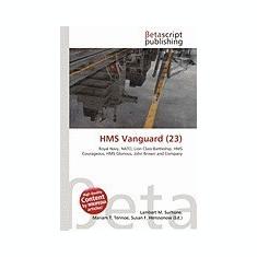HMS Vanguard (23) - Carte in engleza