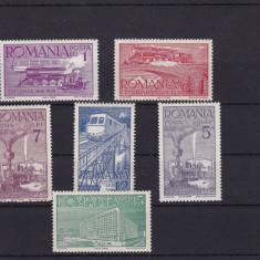 ROMANIA 1939  LP 132  CEFERIADA  SERIE  MNH