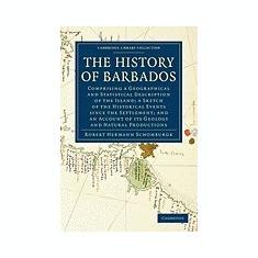 The History of Barbados - Carte in engleza
