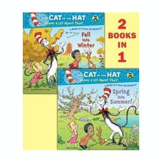 Spring Into Summer!/Fall Into Winter!(dr. Seuss/Cat in the Hat) - Carte in engleza