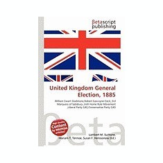 United Kingdom General Election, 1885 - Carte in engleza