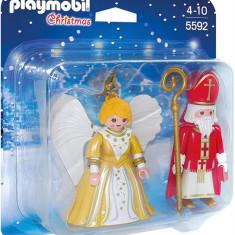 Sfantul Nicolae Si Ingeras De Craciun Playmobil