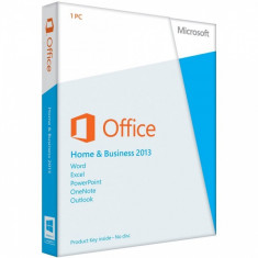 Microsoft Office Home and Business 2013 - in limba Romana sau Engleza - Solutii business