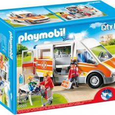 Ambulanta Cu Lumini Si Sunete Playmobil