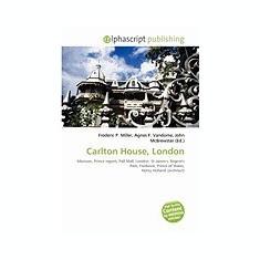 Carlton House, London - Carte in engleza