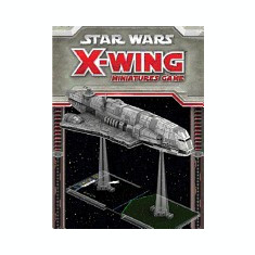 Star Wars: X-Wing Imperial Assault Carrier Miniature Expansion Pack - Carte in engleza