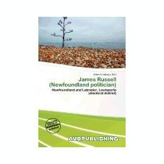 James Russell (Newfoundland Politician) - Carte in engleza