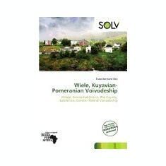 Wiele, Kuyavian-Pomeranian Voivodeship - Carte in engleza