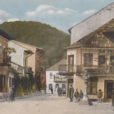 OLTENIA, BAIA DE ARAMA, STR. VICTORIEI, CIRCULATA JUL.''941, CENZURA - Carte Postala Oltenia dupa 1918, Printata