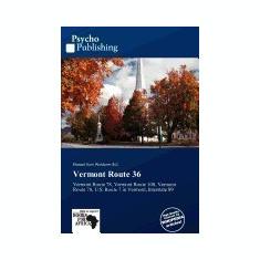Vermont Route 36 - Carte in engleza