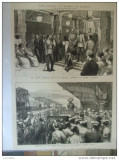 Grafica 1876 The Graphic print Wales Ceylon gara Kandy guvernator Gregory