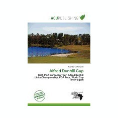 Alfred Dunhill Cup - Carte in engleza