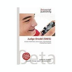 Judge Dredd (Snes) - Carte in engleza