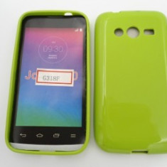 Husa Jelly Case Samsung Galaxy Ace 4 G313F / G318 GREEN - Husa Telefon