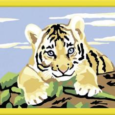 Pictura Pe Numere Pui De Tigru - Jocuri arta si creatie Ravensburger